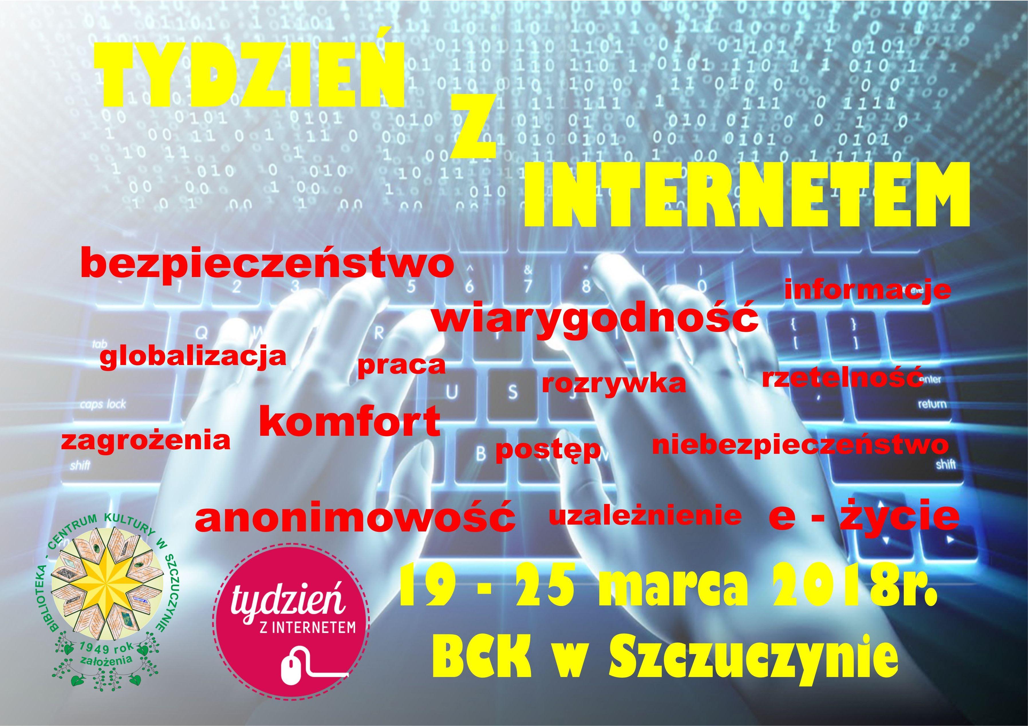 """""""Tydzień z Internetem"""" w BCK w Szczuczynie"""