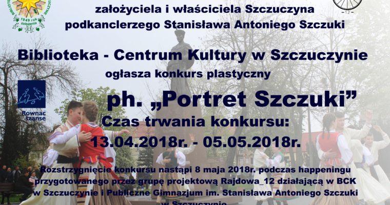 KONKURS PLASTYCZNY PORTRET SZCZUKI