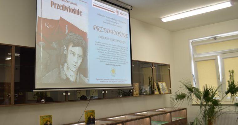 """""""Przedwiośnie"""" narodową lekturą w BCK w Szczuczynie"""