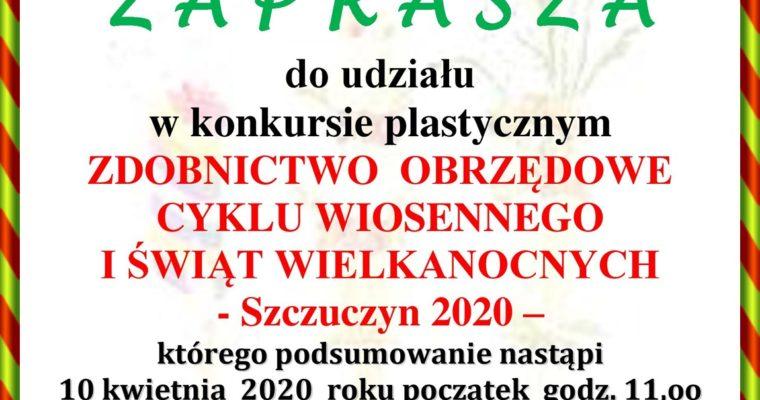 """Miejsko-Gminny Konkurs Plastyczny  """"ZDOBNICTWO OBRZĘDOWE  CYKLU WIOSENNEGO I ŚWIĄT WIELKANOCNYCH"""""""