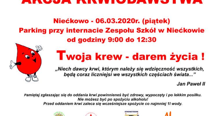 MARCOWA AKCJA KRWIODAWSTWA
