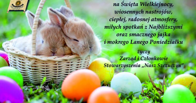 """Życzenia Wielkanocne Stowarzyszenia """"Nasz Szczuczyn"""""""