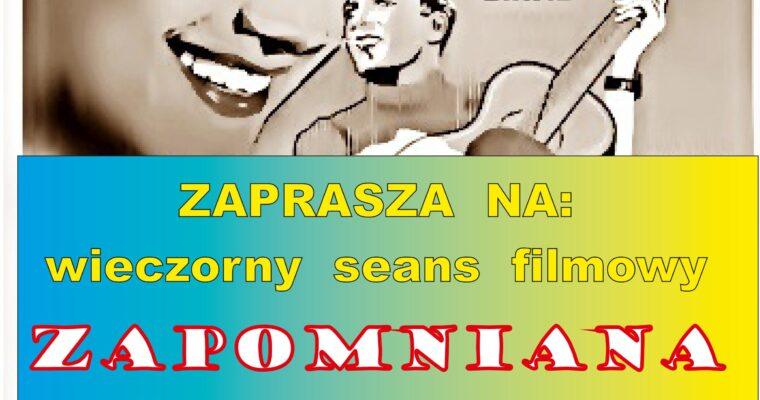 ZAPROSZENIE NA FILM