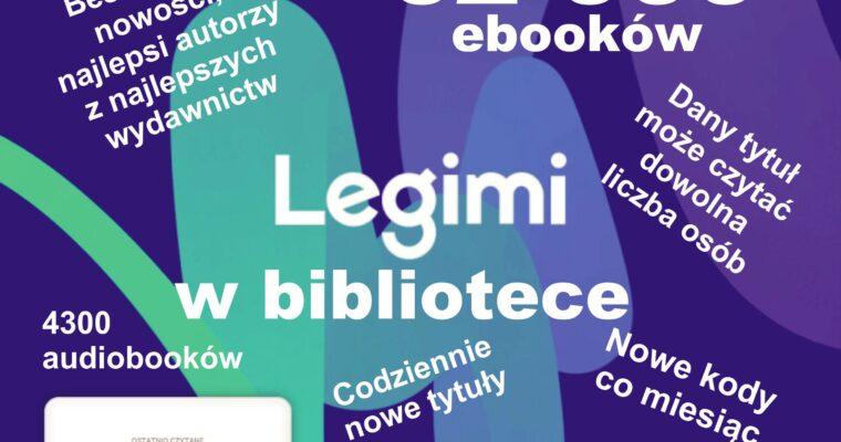 LEGIMI W NASZEJ BIBLIOTECE
