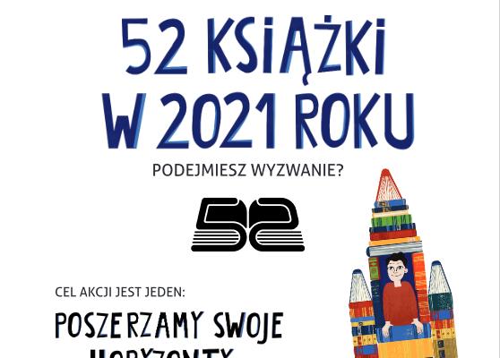 PRZECZYTAM 52 KSIĄŻKI W 2021 ROKU