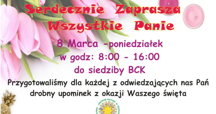 Zaproszenie dla Kobiet
