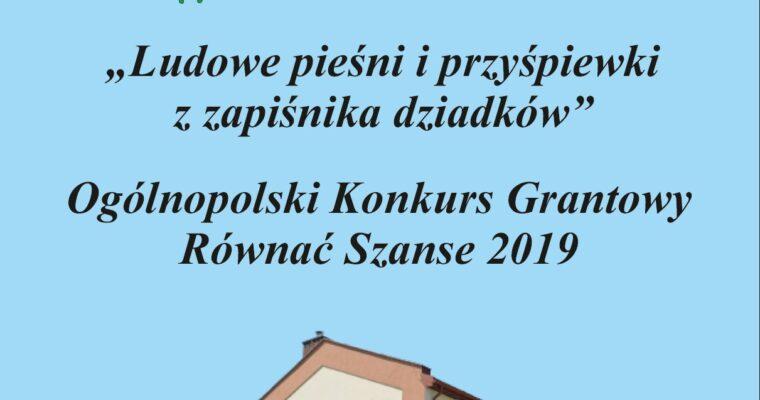 FINAŁ OKG RÓWNAĆ SZANSE 2019 – AKCJA REAKTYWACJA