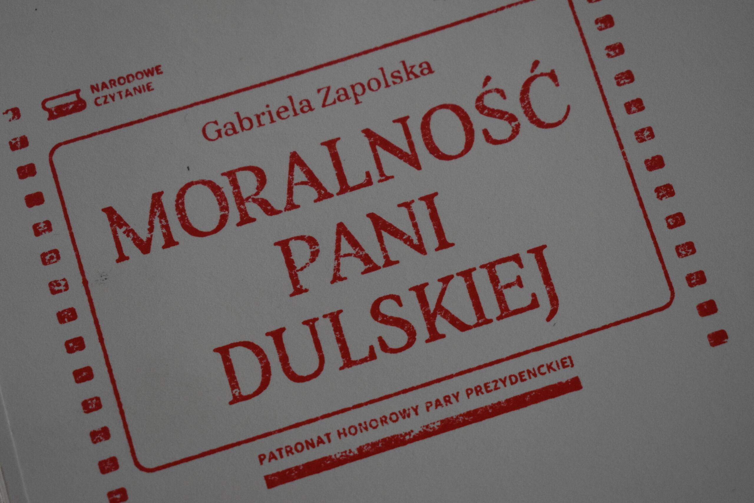"""""""Moralność Pani Dulskiej"""" – Narodowe Czytanie 2021"""